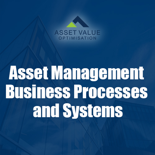 Asset Management Business Processes and Systems