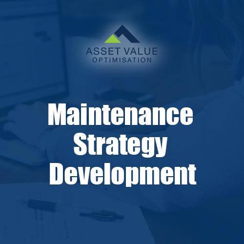 maintenance strategy development